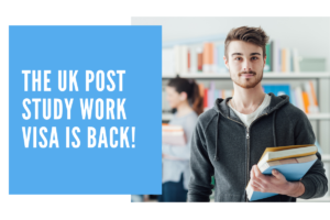 The UK Post Study Work Visa Is Back!