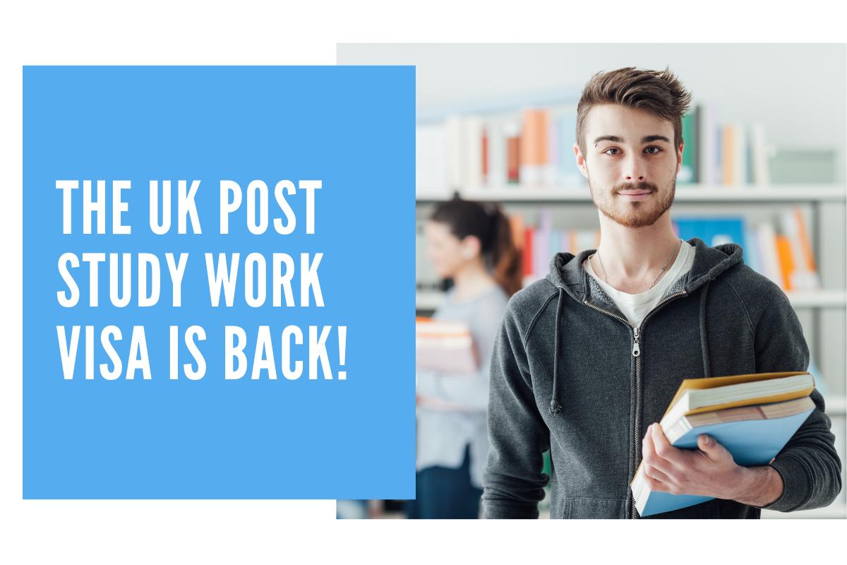 The UK Post Study Work Visa Is Back!
