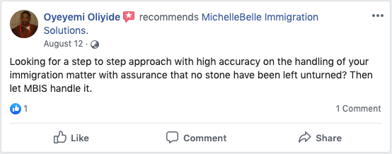 MBIS facebook review