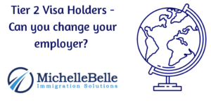 Tier 2 Visa Holders- Can you change your employer?